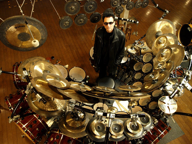 On the road with Terry Bozzio and the world's largest tuned drum kit