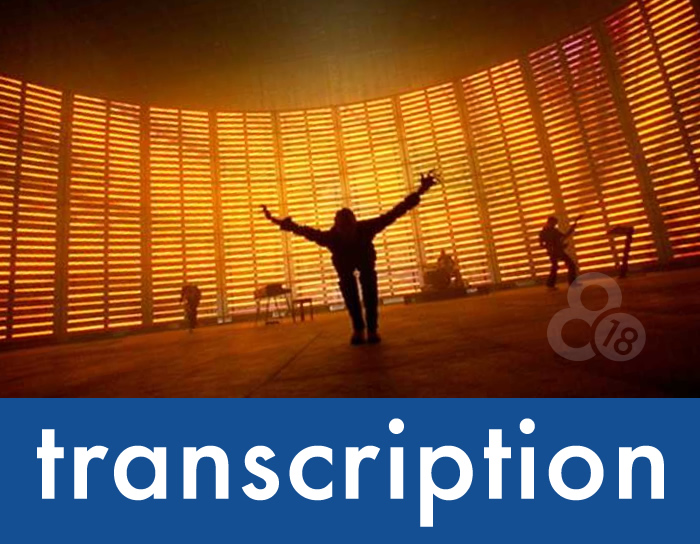 "Transcription – ""Speed of Sound"" by Coldplay"