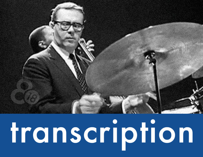 "Transcription – Joe Morello's ""Take Five"" Solo"